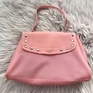 Handbags - Pink Plastic/Rubber Handbag